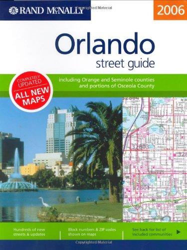 Rand Mcnally 2006 Orlando, Florida: Street Guide