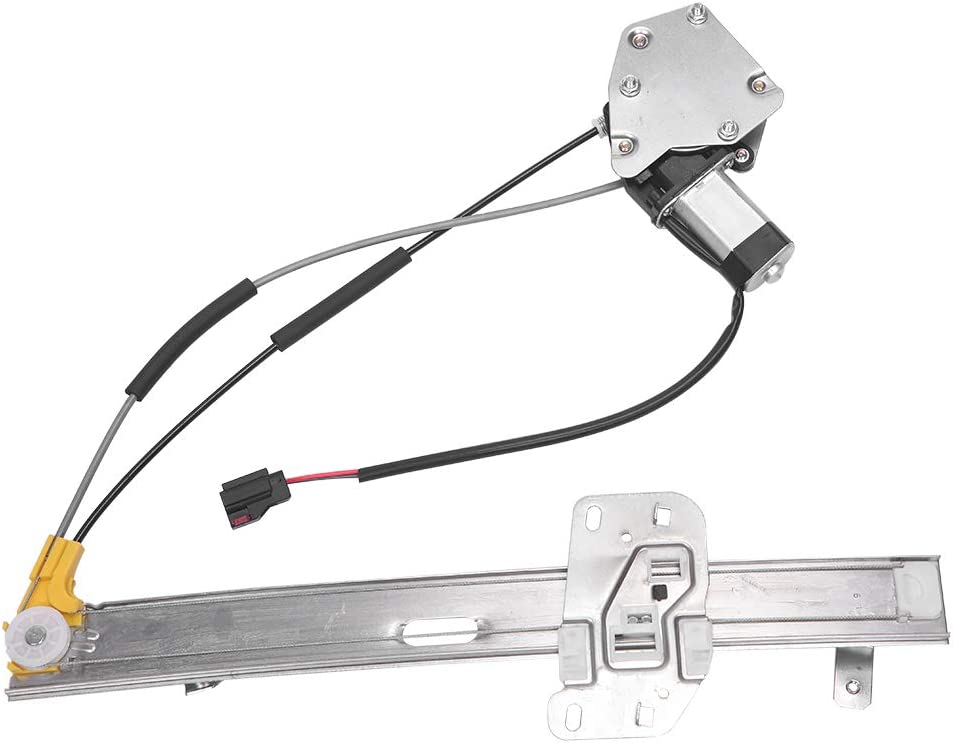 Front Right Passenger Side Power Window Lift Regulator with Motor fit for 97 98 99 00 01 Jeep Cherokee 2.5L 4.0L