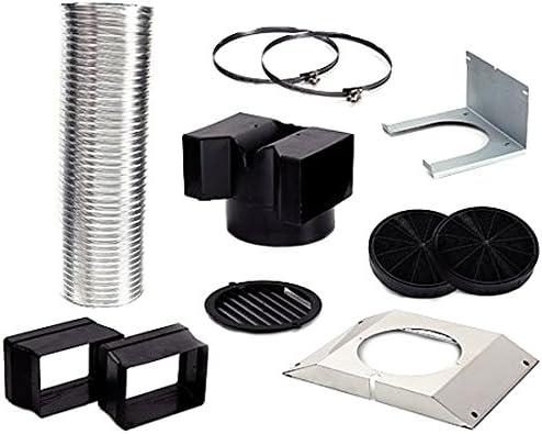Siemens LZ55650 - Accesorio para chimenea (Extractor kit, Bosch, DWK06G620, DWK06G660, DWK09G620, DWK09G660)