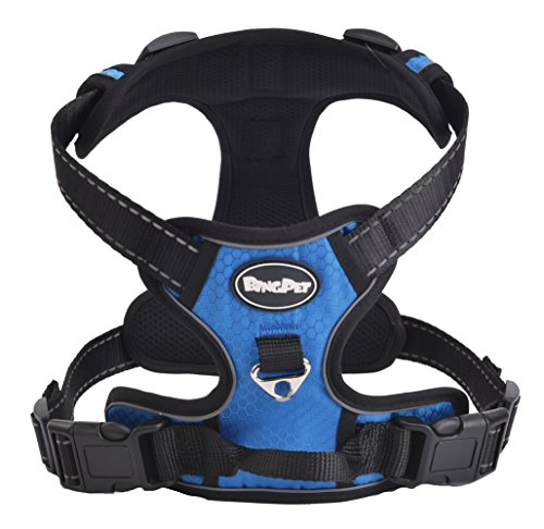 No Pull Harness Reflective Outdoor Adventure Handle product image