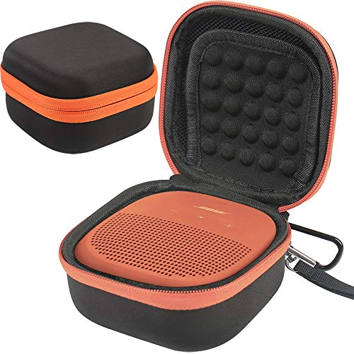 CASE Cover Compatible with Bose SoundLink Micro Bluetooth Speaker by COMECASE - Black