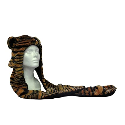 Amazon.com  Wishpets Stuffed Animal - Soft Plush Toy for Kids - Tiger Hat  with Mittens  Toys   Games 6a5700a2c1ec