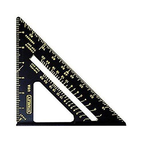 Stanleyツール46 – 071 2パックプレミアムクイックスクエアレイアウトツール、ブラック B013E719OG4 Pack