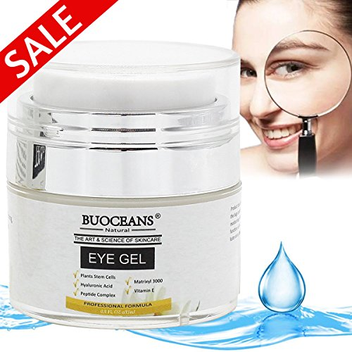 Instant Under Eye Serum (Eye Cream, Eye Gel for Dark Circles, Puffiness, Wrinkles and Bags, Instant Firming & Anti Aging Eye Cream for Under and Around Eyes - 100% Natural With Hyaluronic Acid, Jojoba Oil, MSM, Peptides,15ml)