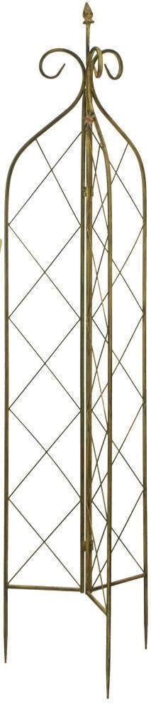 180cm x 120cm by Gardman Expanding Riveted Wooden Trellis Plant Support in Tan