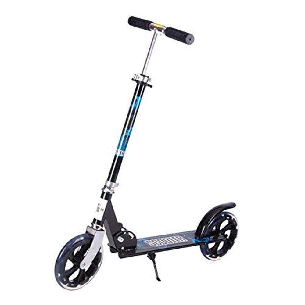 【18%OFF】 スクーター幼児用スクーター スクーターを蹴っている子供二輪スクーター B07R5JVZQ3、スクーターを蹴って、折りたたみ自転車に取り組んで(618歳に最適)(カラー:ブラック) 子供用スクーター B07R5JVZQ3, DGMODE:2b8893fb --- 4x4.lt