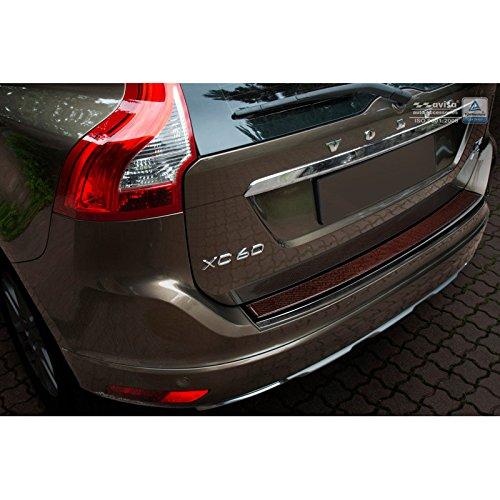 Avisa 2/44035 protección de umbral Trasera Inoxidable Deluxe Volvo Xc60 2013 - 2016 Negro/Carboné Noir-Rouge, Carbon: Amazon.es: Coche y moto