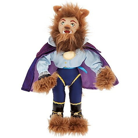 Beauty and the Beast: The Broadway Musical Beast Plush Doll - 14'' Beauty Collectible Musical Doll