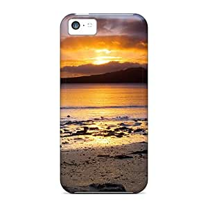 New Sun Rays Tpu Case Cover, Anti-scratch RJvoDHp29781cldKZ Phone Case For Iphone 5c