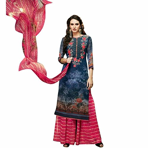 Designer-Palazzo-Pants-Partywear-Georgette-Embroiderd-Salwar-Kameez