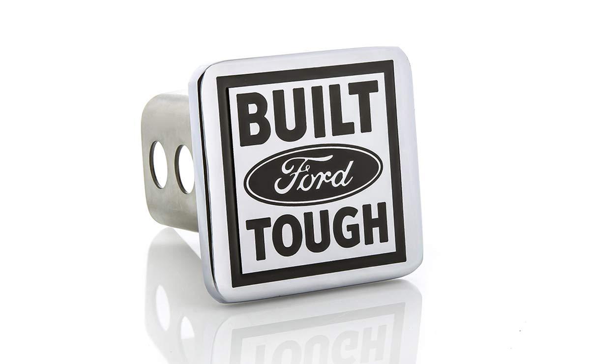 Ford Built Tough Metal Trailer Tow Hitch Cover Plug Emblem Baronlfi