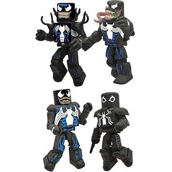 Amazon Com Diamond Select Toys Marvel Minimates Venom Throug