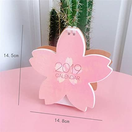 Amazon.com : Calendar Planner 2019 Cute Unicorn Flamingo Pig ...
