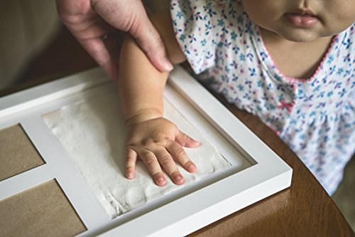 Keepsake boxes tins products online in the uae abu dhabi dubai bubzi co baby handprint kit footprint photo frame for newborn girls and boys baby negle Gallery