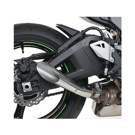 - 11-18 KAWASAKI ZX10R: Hotbodies Racing Megaphone Slip-On Exhaust (Stainless Steel)
