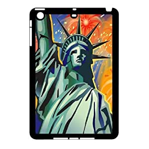 K-G-X Phone case For Ipad Mini 2 Case Case-Pattern-1 American Statue Of Liberty Protective Back Case