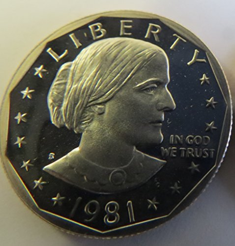 1981 S Susan B. Anthony Type 1 Proof Dollar Perfect Uncirculated ()