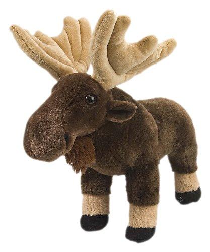 (Wild Republic Moose Plush, Stuffed Animal, Plush Toy, Gifts for Kids, Cuddlekins 12