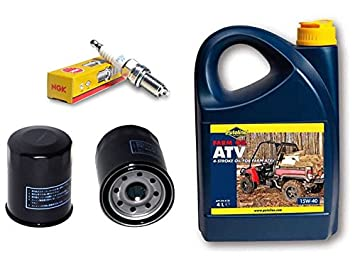 2 x Aceite Yamaha YFM 660 R Raptor + 4liter Power sintéticos 15 W40 aceite: Amazon.es: Coche y moto