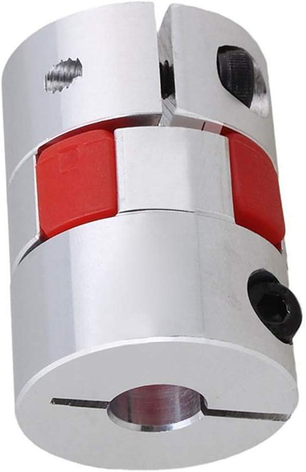 D30MM/×L40MM, D1-13mm,D2-13mm Shaft Coupler Flexible Plum Coupling 13mm to 13mm CNC Stepper Motor Jaw Spider for 3D Printer