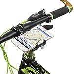 Lixada-Portabiciclette-per-MTB-Biciclette-Banda-in-Silicone-Universale-Regolabile-Supporto-GPS-per-Cellulare-Morsetto-a-Culla-Adatto-per-Manubri-da-318mm-254mm