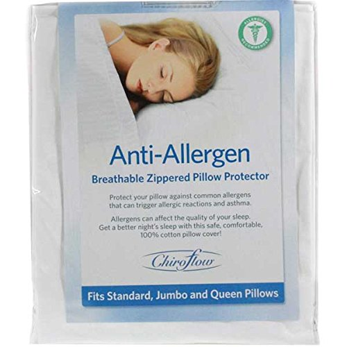 Mediflow, Chiroflow Anti-Allergen Breathable Zippered Pillow Protector