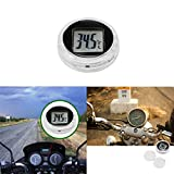 ALLOMN Indoor Outdoor Thermometer, Mini Small Car Bicycle Motor Bike Digital Thermometer Celsius Car Celsius Kitchen Digital Thermometer