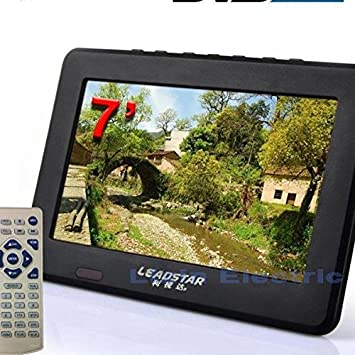 Receptor de televisión digital HITSAN líder Hd tv de 7 pulgadas dvb t2 tv y analógico compatible con tarjeta tf y reproducción de audio y vídeo USB dvb t tv: Amazon.es: Electrónica