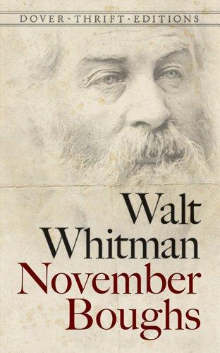 November Boughs (Dover Thrift - Whitman Walt Huntington