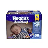 Huggies OverNite Diapers Step 3 Big Pack, 68 Count