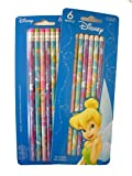 : Disney Princess Tinkerbell Tinker bell Pencil set : 12 pcs