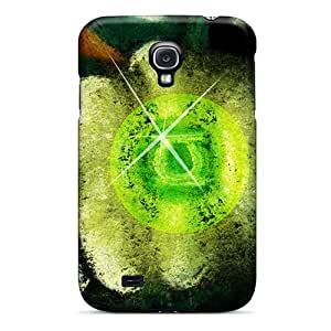 ErleneRobinson Samsung Galaxy S4 Protective Hard Cell-phone Case Support Personal Customs High Resolution Green Lantern Pattern [Cng3239tYGv]