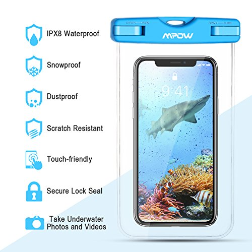 Review Mpow Waterproof Case, Universal
