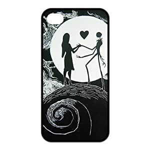 Disney Apple iPhone 4S Case The Nightmare Before Christmas Disney Shield Protector Case for Apple Case for Iphone 4,4s (TPU) by ruishername