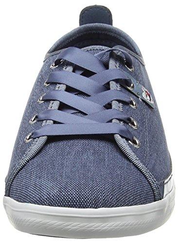 Hilfiger K1285eira jeans 013 Tommy Hg Bleu 1d1 Femme Sneaker Basses 1Zdqw5d