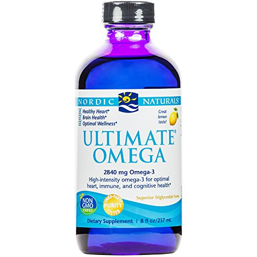 Nordic Naturals - Ultimate Omega, Support for a Healthy Heart, 8 Ounces (FFP) by Nordic Naturals