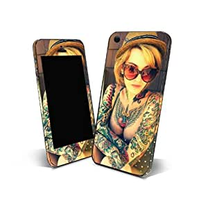 Skin Sticker 3m Cover Phone for Nokia Asha 501 Protection Skin Design Sexy Tattoo NTT01
