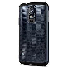 Galaxy S5 Case, Spigen [AIR CUSHION] Slim Armor Case for Samsung Galaxy S5 - Retail Packaging - Metal Slate (SGP10751)