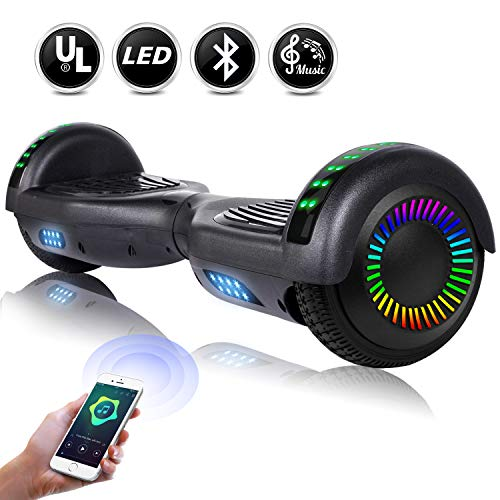 EPCTEK Hoverboard, Self Balancing Hoverboards with Bluetooth Speaker – UL2272 Certified Hover Board for Kids