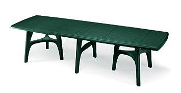 Gartentisch ausziehbar kunststoff  Tische Outdoor cm 400, ausziehbare Tische Tisch aus Kunststoff 4 ...