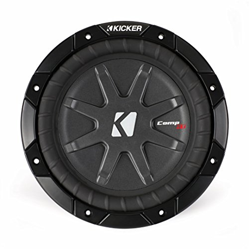 Kicker 40CWRT82 8-Inch 600 Watt Slim Sub 2-Ohm Powersport Weather Subwoofer