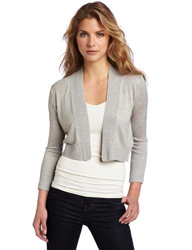Kenneth Cole New York Women's Petite Shrug Cradigan Sweater