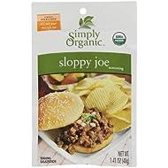 Simply Organic, Seasoning Mix, Sloppy Joe, 1.41 oz