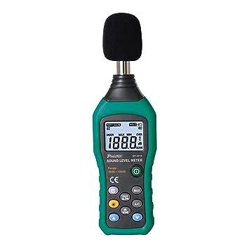Schallpegelmessgerät 30-130 DB Prüfer Messgerät Digital Schallpegelmesser Kit DE