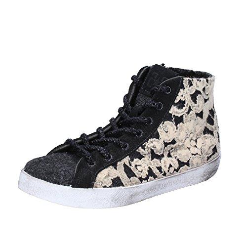 STAR Tessuto Fashion 36 Nero Donna Sneakers 2 EU Beige 8qdwz8