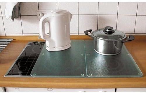 Compra Cubiertas para Fogones Juego de 2 Cubierta de Placa de Cocina Protección contra Salpicaduras Vitrocerámica Horno Placas en Amazon.es