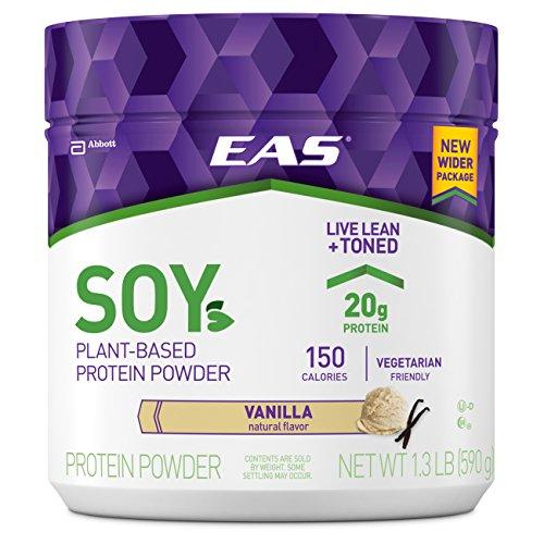 EAS Soy Protein Powder, Vanilla, 1.3 Pound