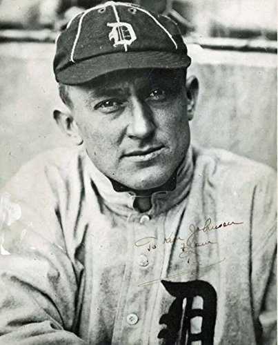 Ty Cobb Autographed Autographed Signature 8x10 Vintage Tigers Photograph Beckett (Detroit Tigers Mlb Hand Signed)