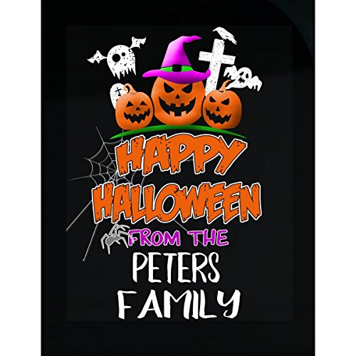 Prints Express Happy Halloween from Peters Family Trick Or Treating - Sticker ()