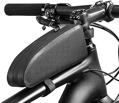 ZLRN Ciclismo Bicicleta Bicicleta Superior Tubo Frontal Bolsa Impermeable Marco Bolsa Gran Capacidad MTB Bicicleta Maleta Caso Bicicleta Accesorios (Color : Black, Size : Model M): Amazon.es: Deportes y aire libre